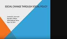 Webinar on Social Change